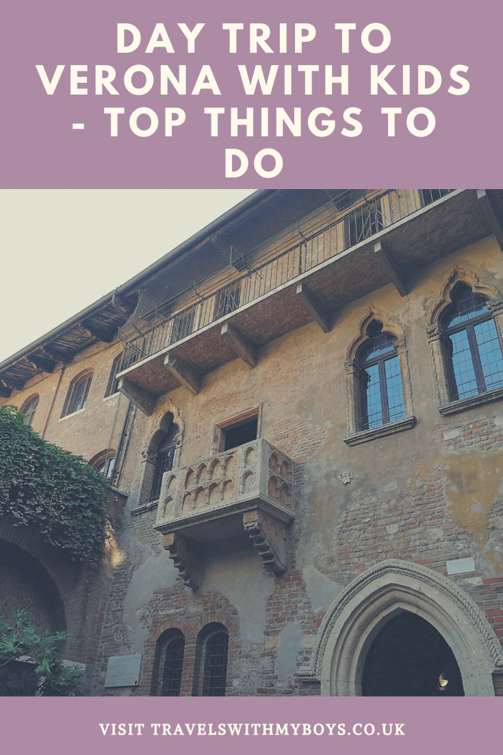 Thinking of visiting Verona with kids? Then check out what we go up to and some of the things to do in Verona with kids!
