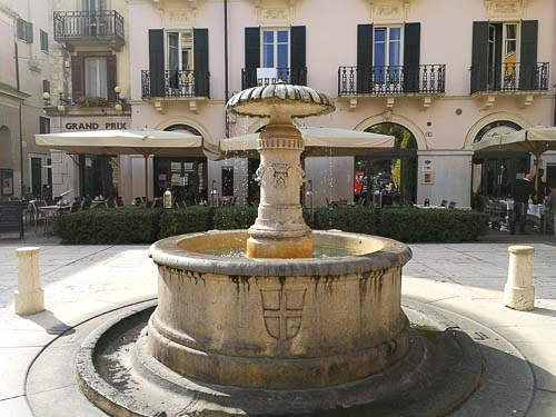 Fountain in Verona