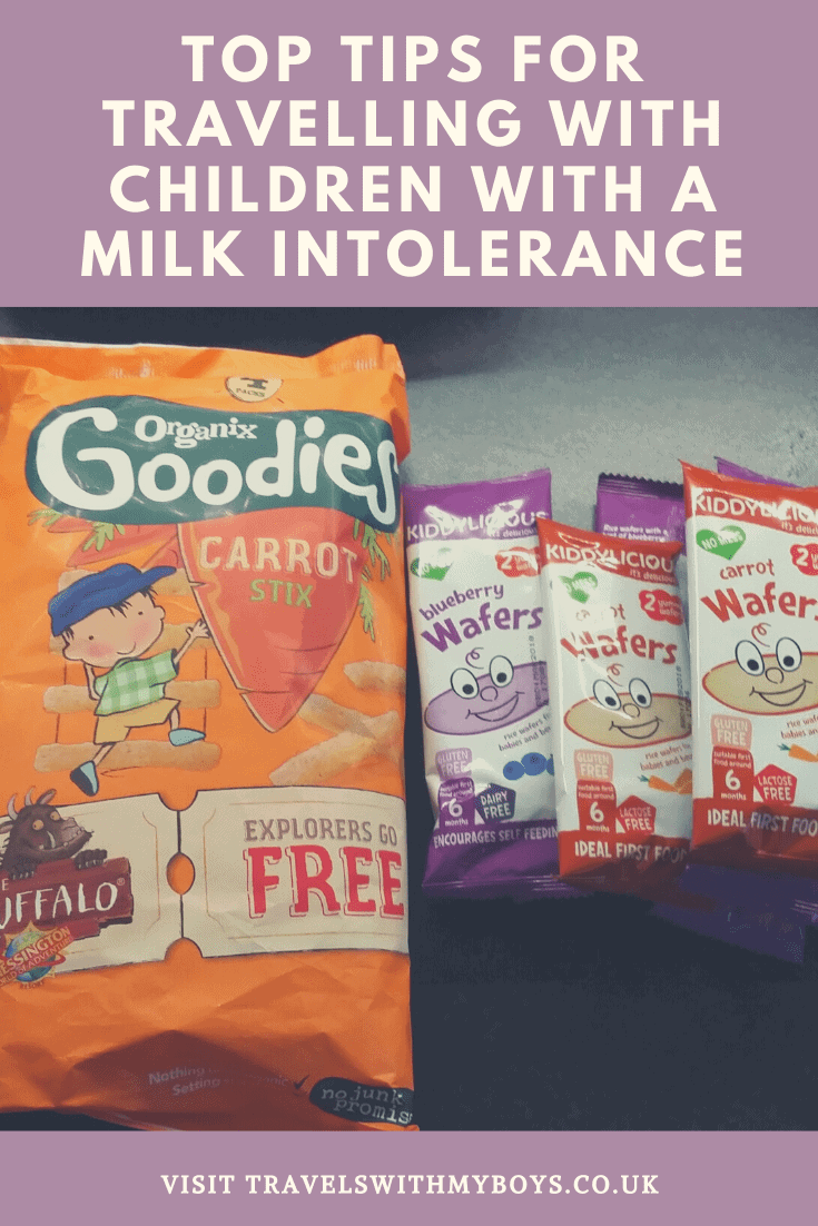 Travelling with a child who has a milk intolerance? Then check out our tips for going on holiday with a child who has a milk intolerance