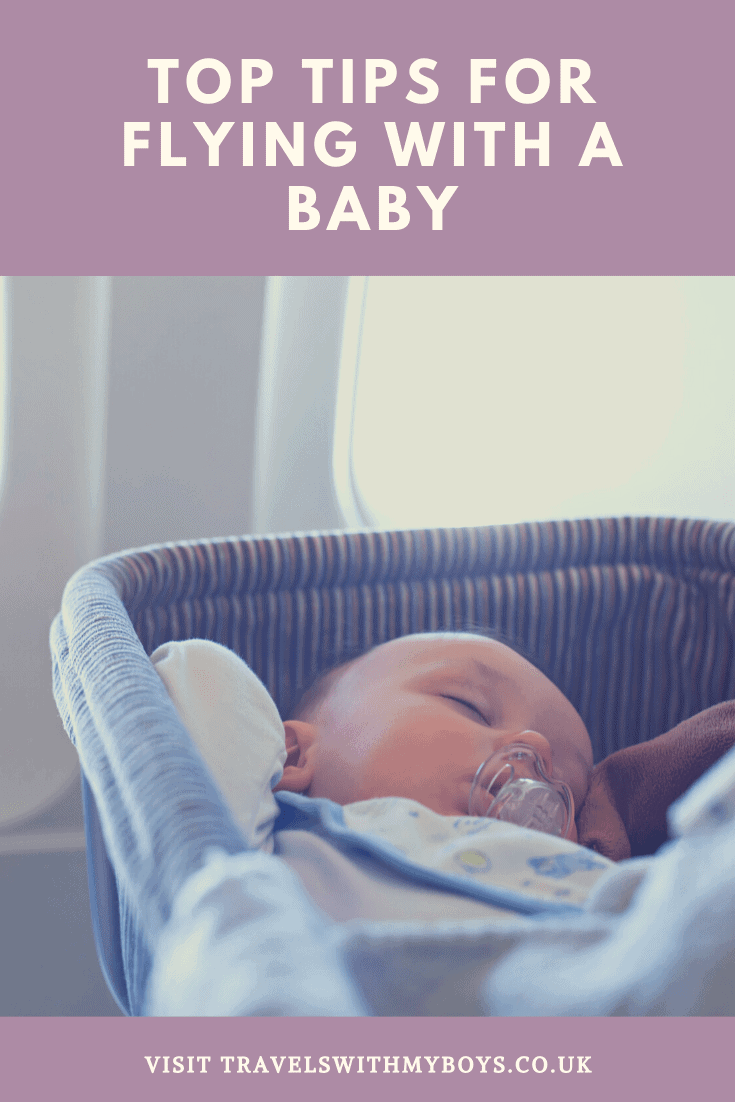 Some of our top tips for flying with a baby. What items we think you should take to make flying with a baby easier.