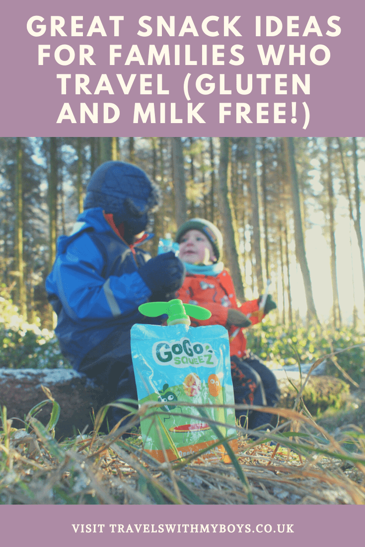 Free From Family Travel - Gluten and Milk Free snack ideas for family travel and families on the go