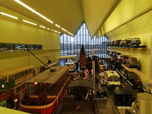 View over Riverside Museum
