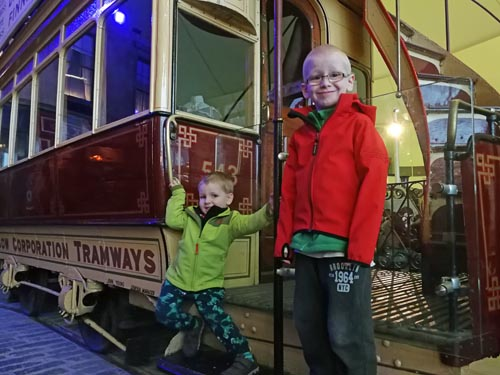 Brothers at Riverside Museum