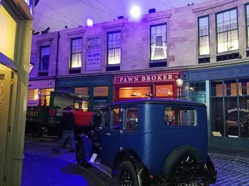 Old Glasgow Street at Riverside Museum