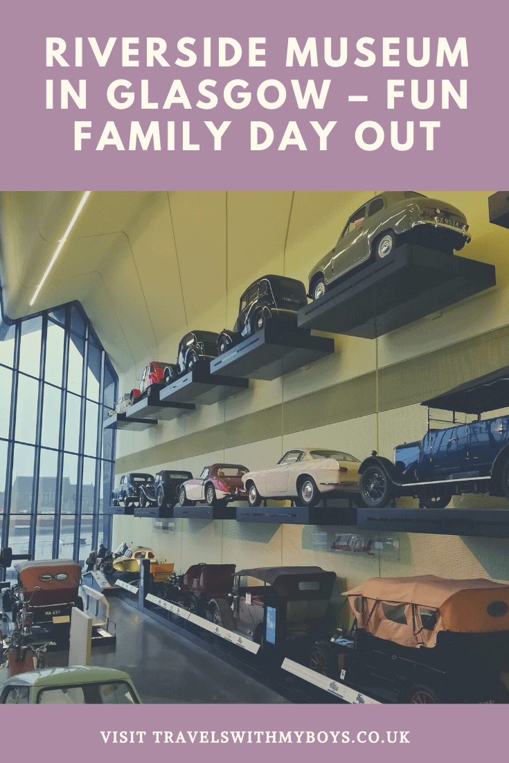 Family day out at Riverside Museum in Glasgow - Transport Museum Glasgow