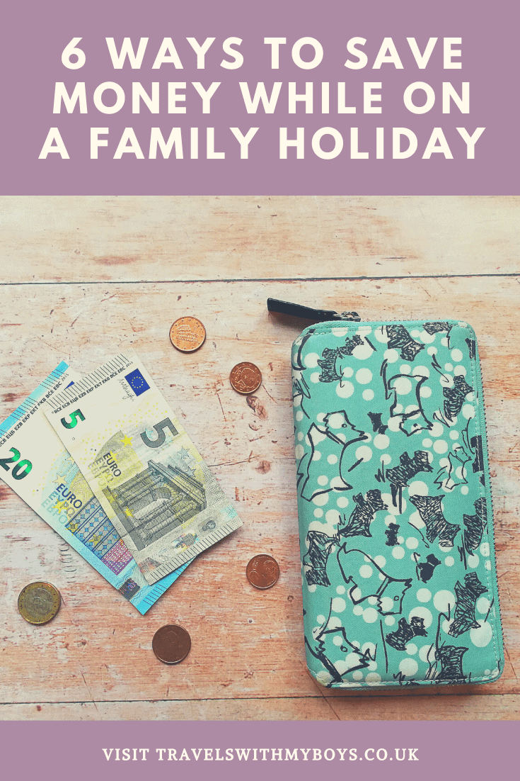 Our 6 top ways of saving money while on holiday