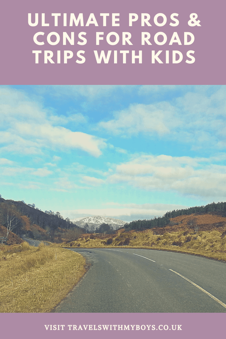 The ultimate pros and cons to road trips with kids | Family Road Trips with kids