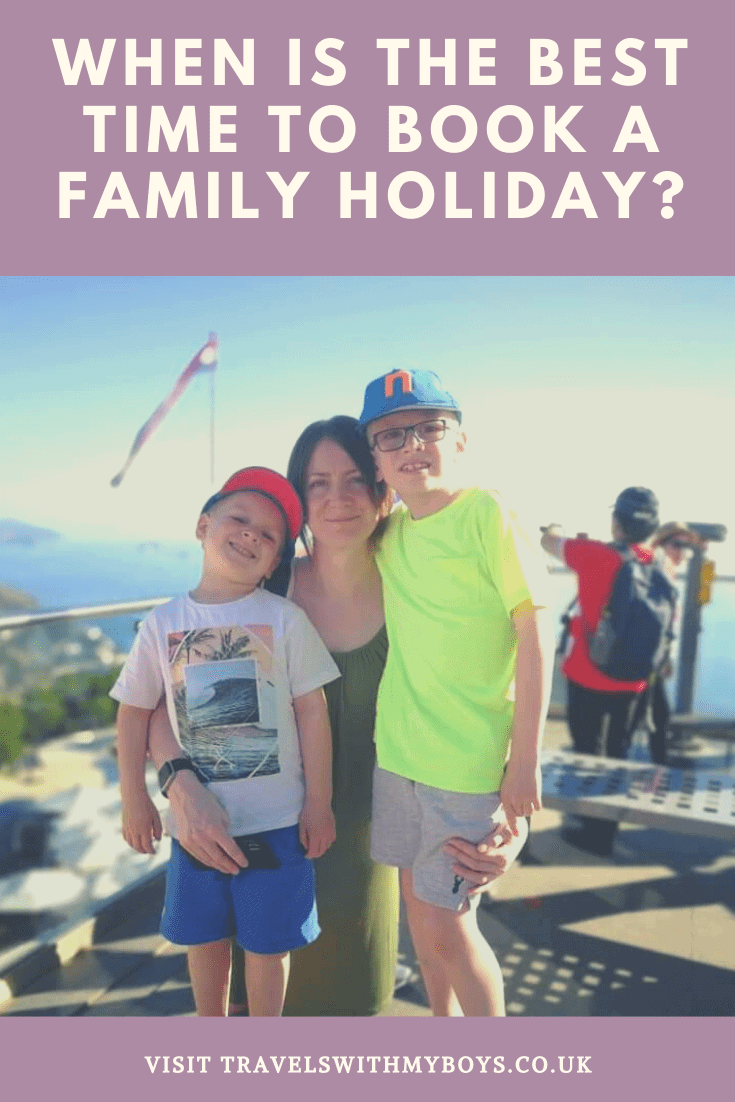 When is the best time to be booking your family holiday? Should you book early, or last minute?