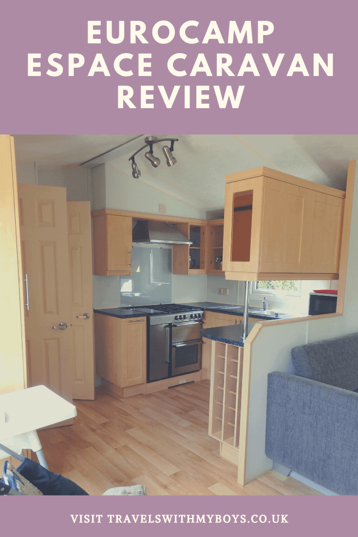 Espace Caravan Review - Eurocamp Holiday - Self Catering Accommodation Review