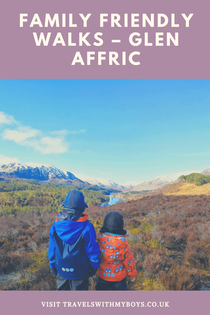 Glen Affric in Scotland | Find some great family friendly trails in Scotland