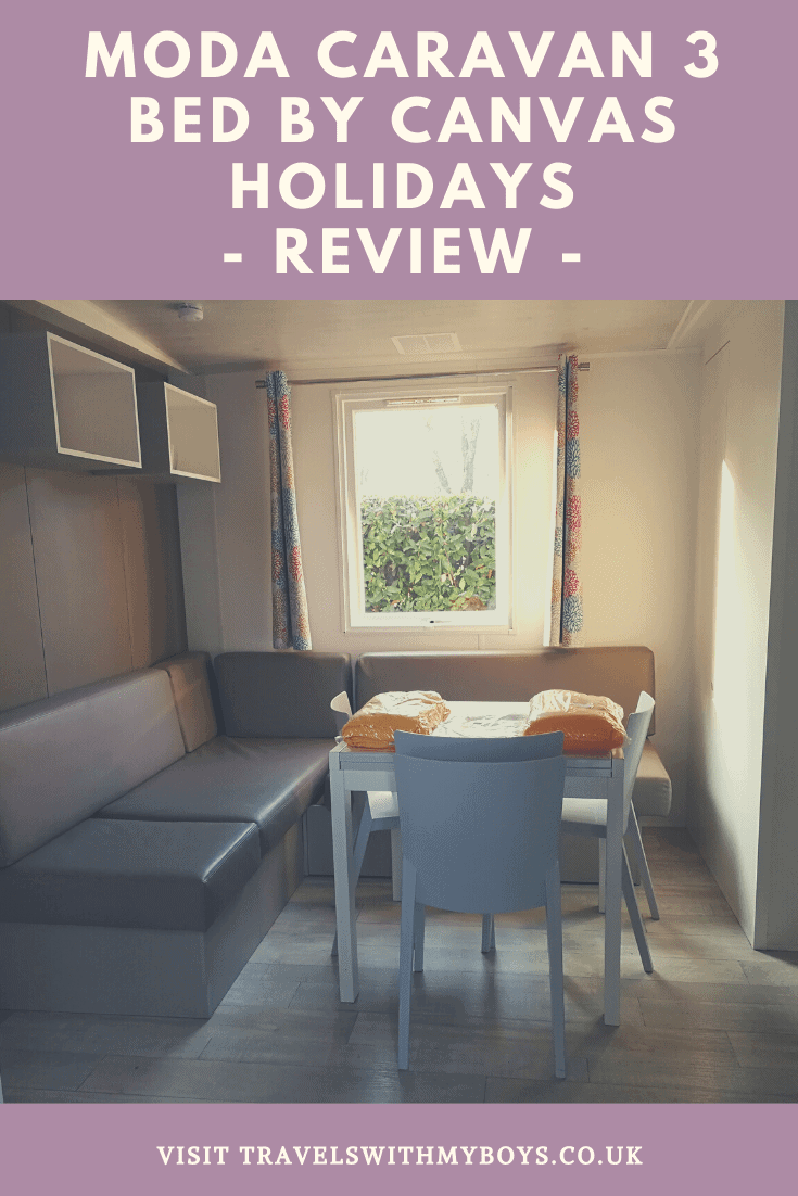 Our review of the Moda Caravan (3 bed) by Canvas Holidays. Find out what we thought of the Moda Caravan