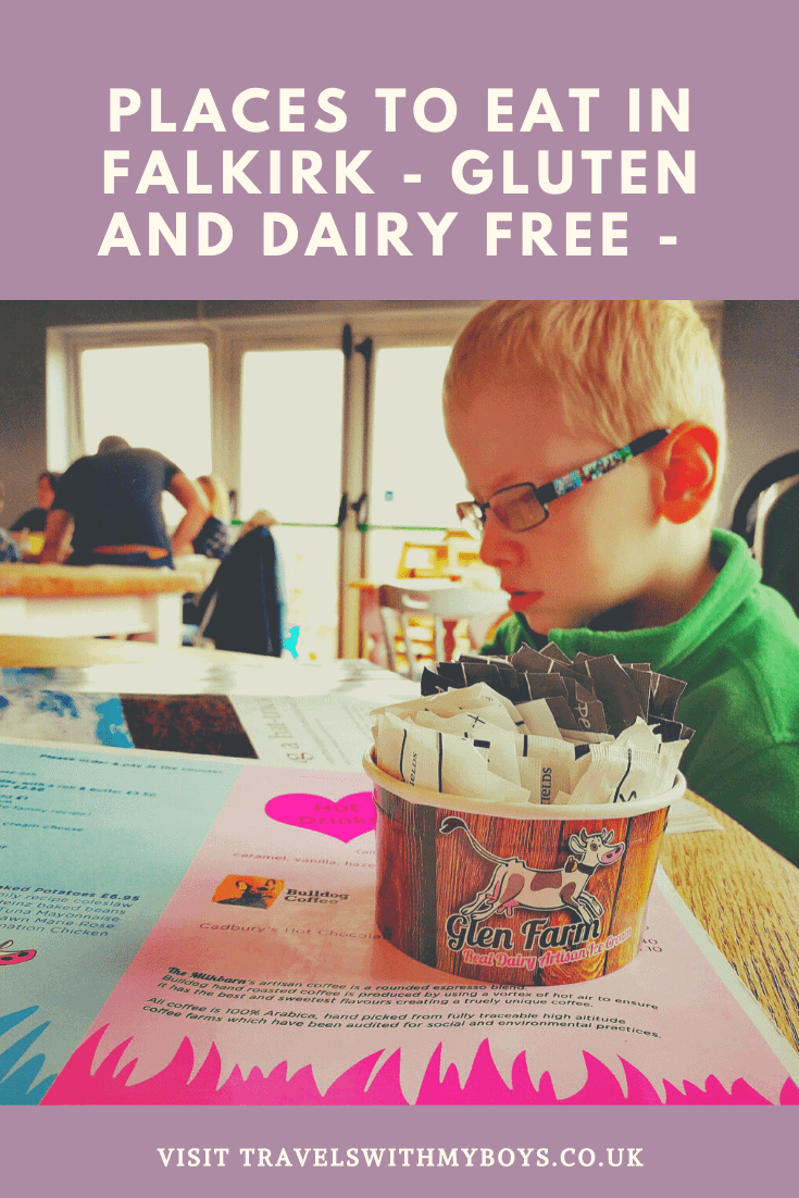Family Friendly Places To Eat In Falkirk, Scotland | Gluten and Dairy (Milk) Free Travel