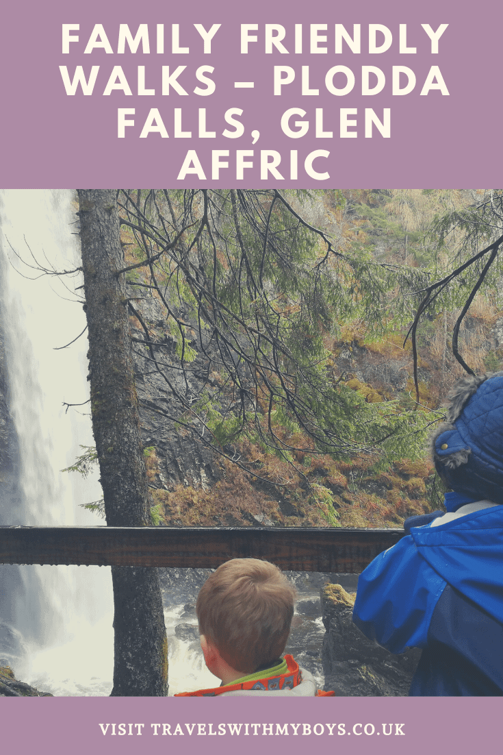 Family Friendly Walks - Plodda Falls Glen Affric