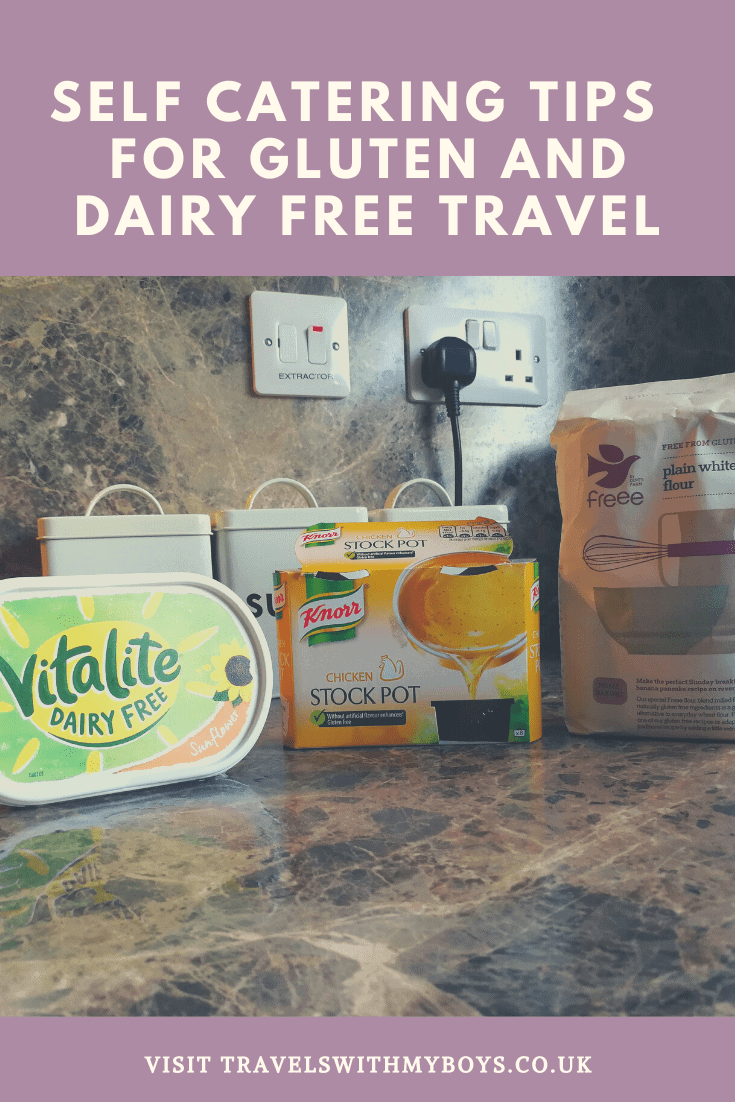 SELF CATERING TIPS FOR GLUTEN & MILK FREE TRAVEL - TRIED & TESTED -