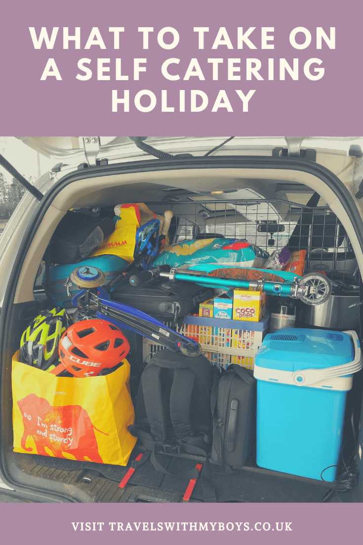 What To Take On A Self Catering Holiday | Self Catering Holiday Packing List