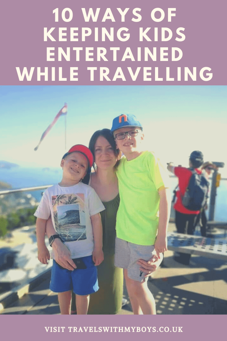 Ways to keep kids entertained while travelling | Keeping your kids entertained while travelling
