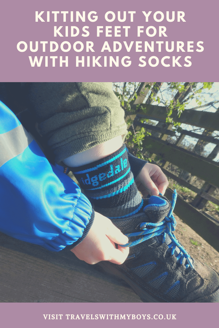 Kitting your childrens feet out for their outdoor adventures. Why you should get them hiking socks