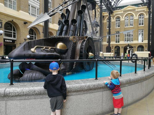 Exploring London with Kids