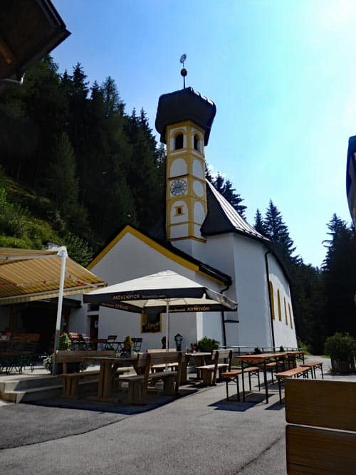 Church at Helligwasser Alm