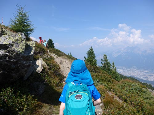 hiking in Igls