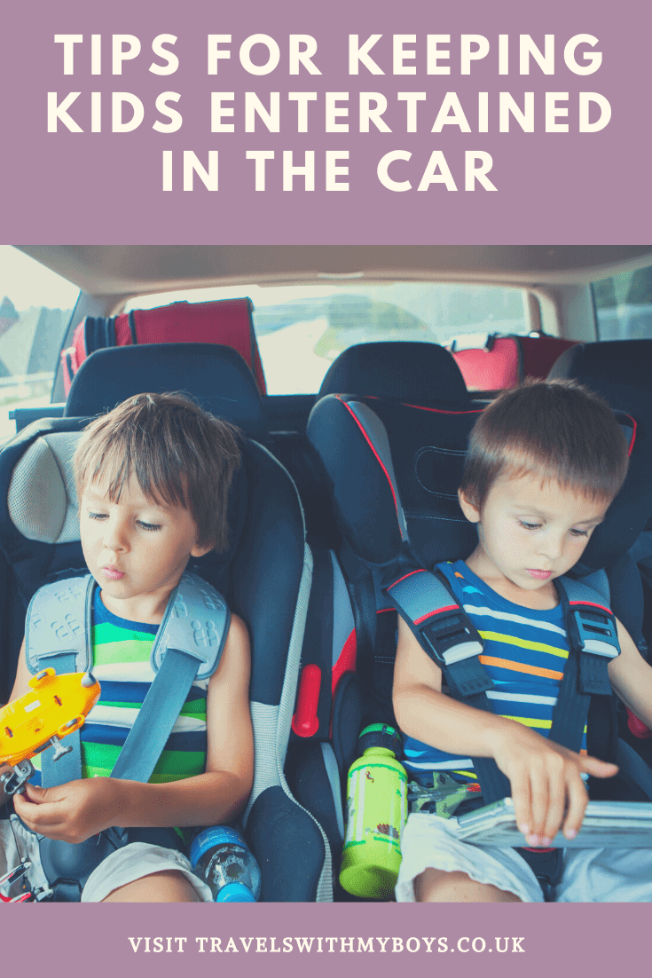 Keeping kids entertained on long car journeys | Tips on keeping children entertained in the car