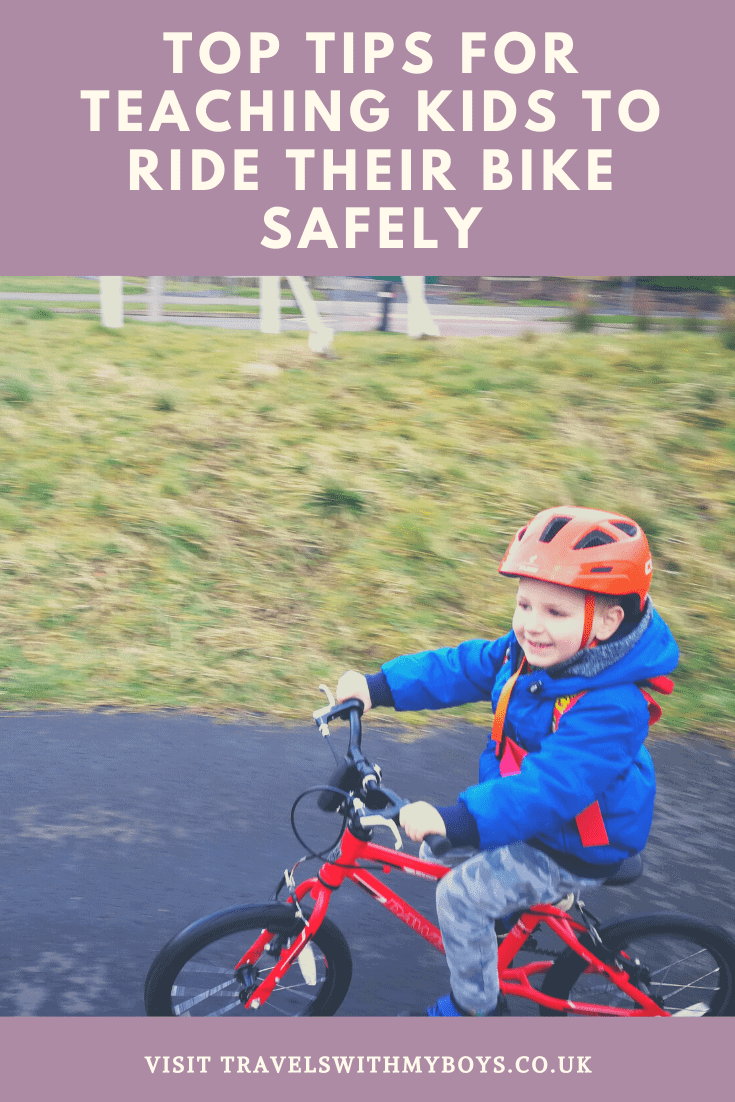 Our Top Tips For Teaching Kids To Ride Their Bike Safely