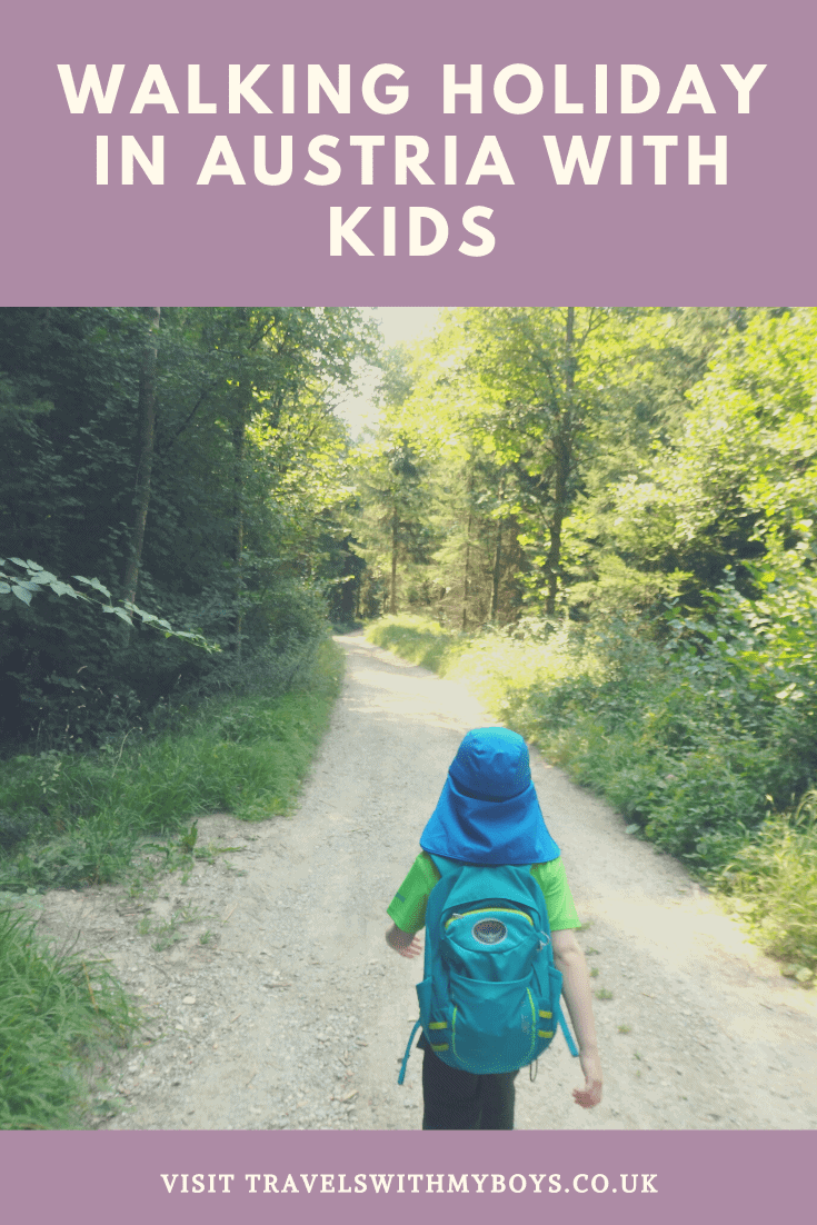 Solo Parenting on a walking holiday with kids|Walking holiday in Austria with kids