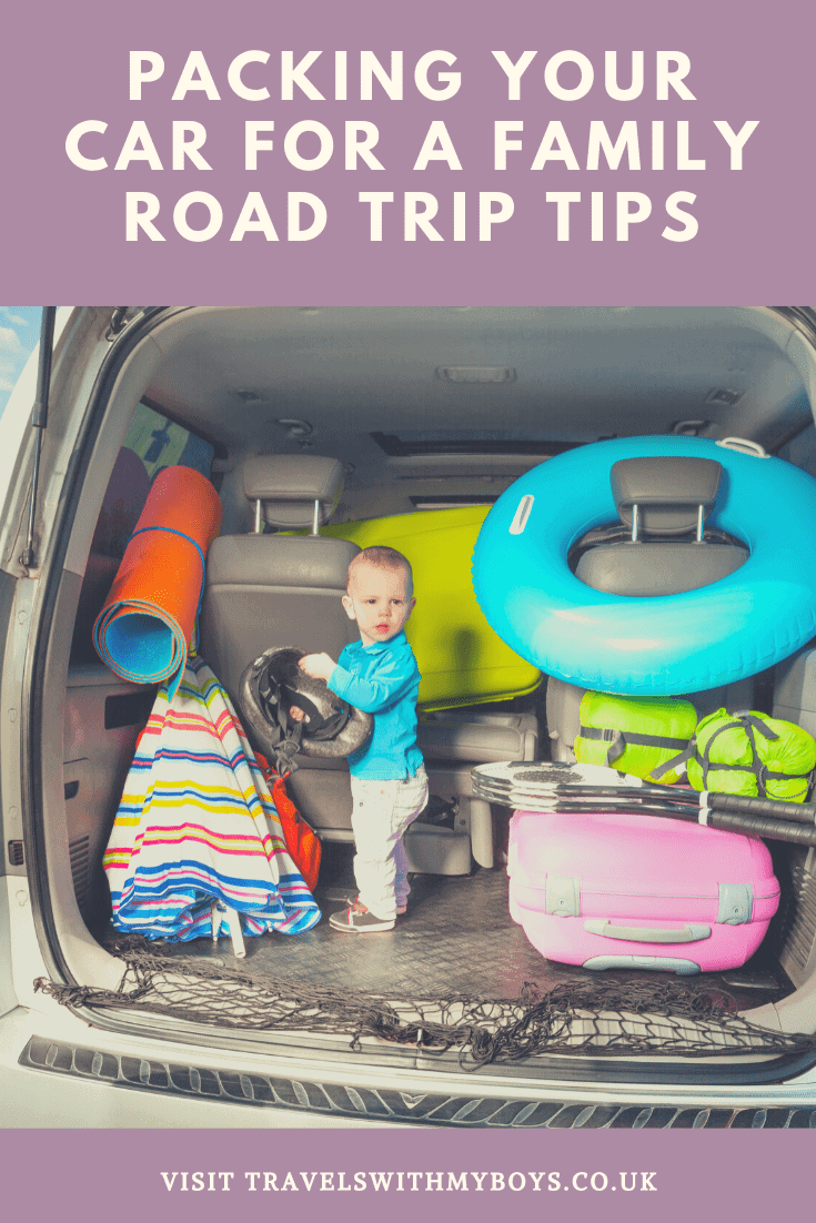 How To Pack Your Car For A Family Road Trip | Packing Your Car For A Road Trip With Kids