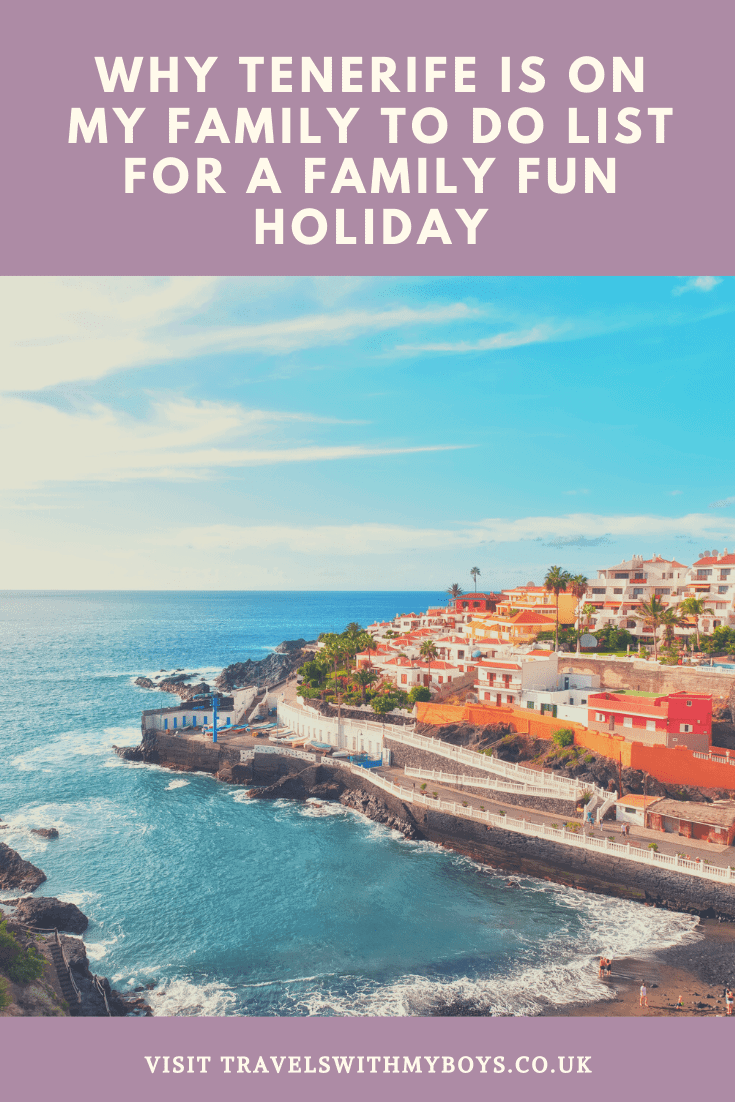 Why Tenerife is on our to do list for a family holiday #ad #iberostaradventures
