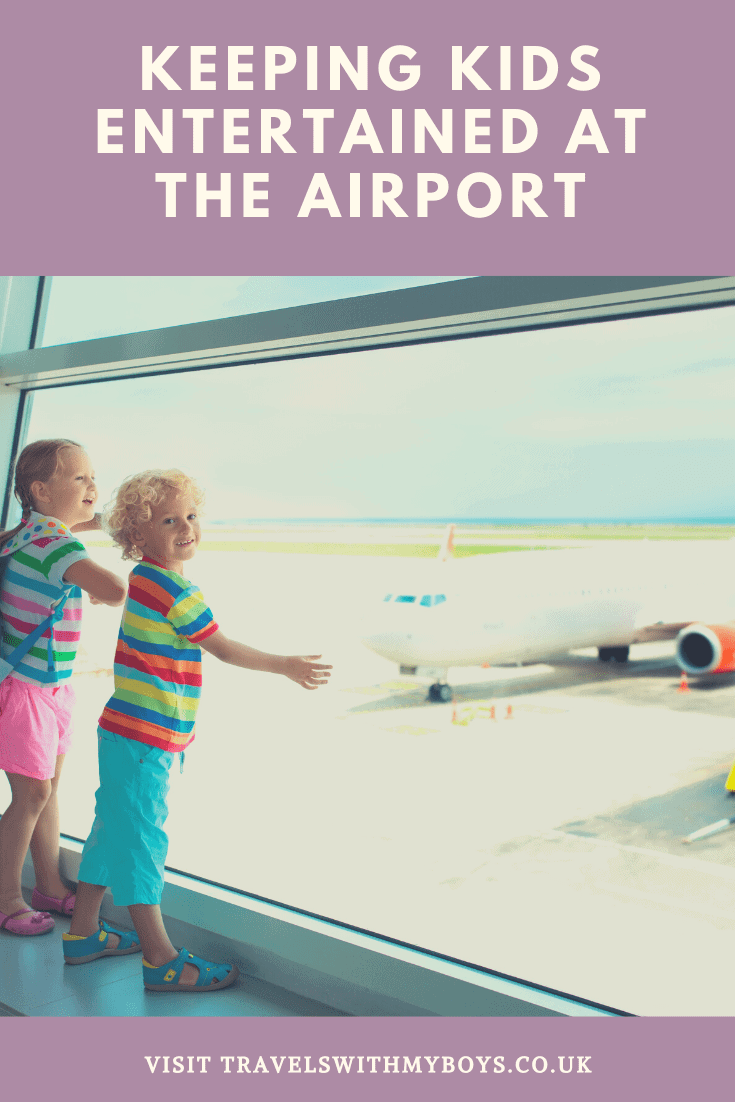 Keeping kids entertained at the airport|Tips on keeping children entertained at the airport
