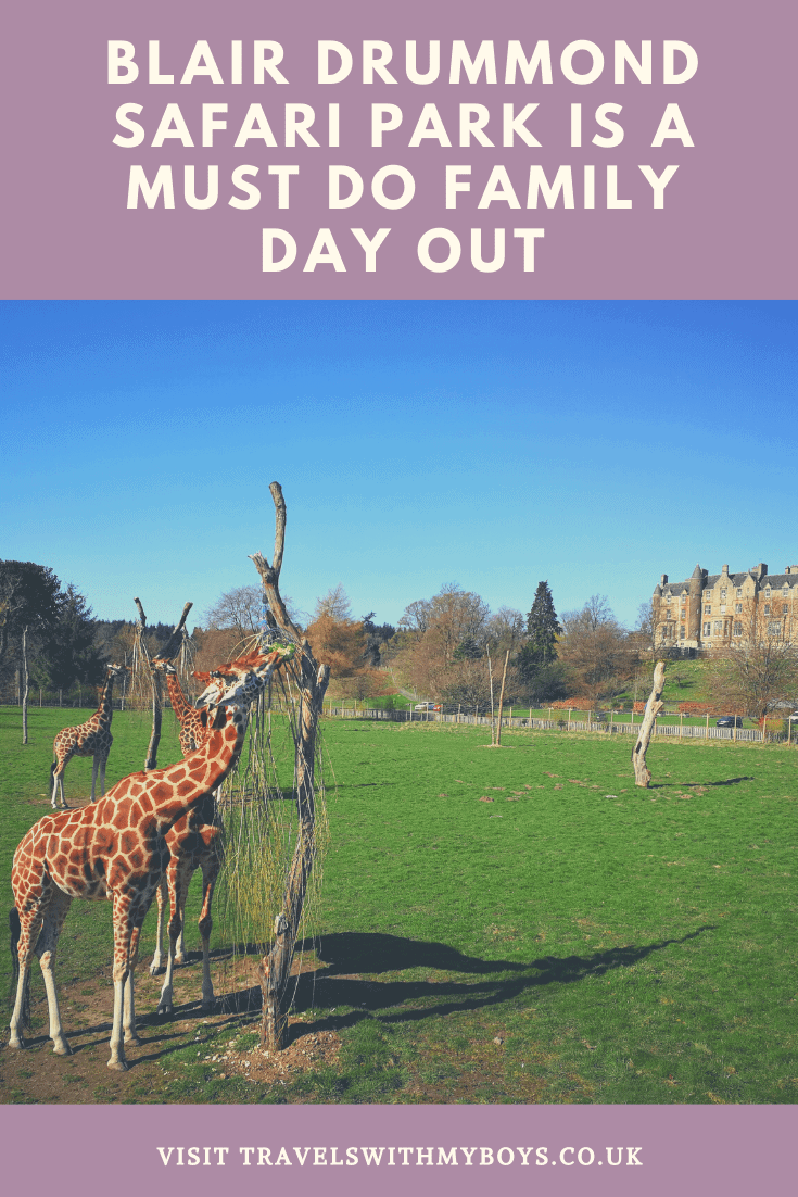 Blair Drummond Safari Park Family Day Out Near Stirling | Family Day Out Near Stirling, Scotland. Lots of Easter Fun