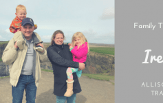 Family travel in Ireland