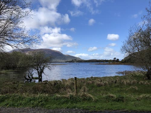 Lake view in Ireland