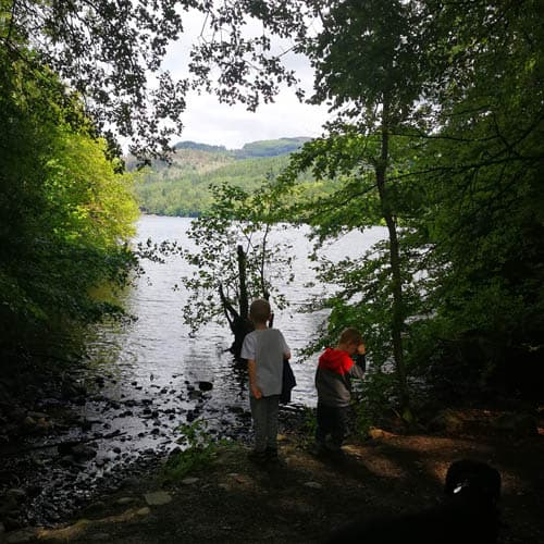 Pitlochry Walk with kids